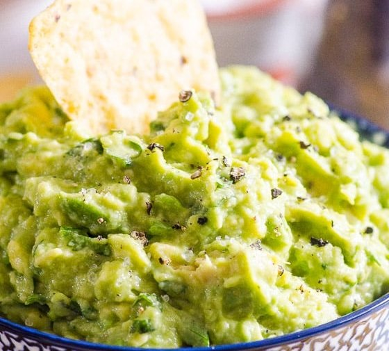 Easy Guacamole Recipe (Video)