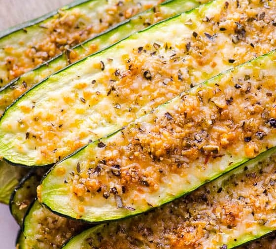 Parmesan Zucchini Sticks (Video)