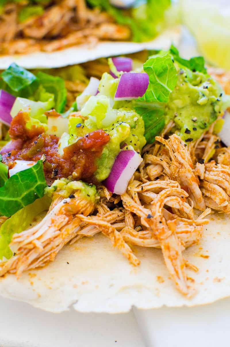 Best Ever Instant Pot Chicken Tacos Ifoodreal Com
