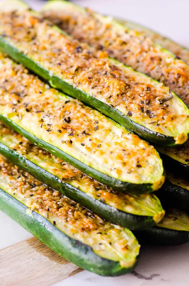 Baked Zucchini Sticks Recipe