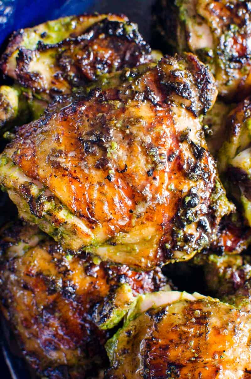 The Best Grilled Chicken Thighs Ifoodreal