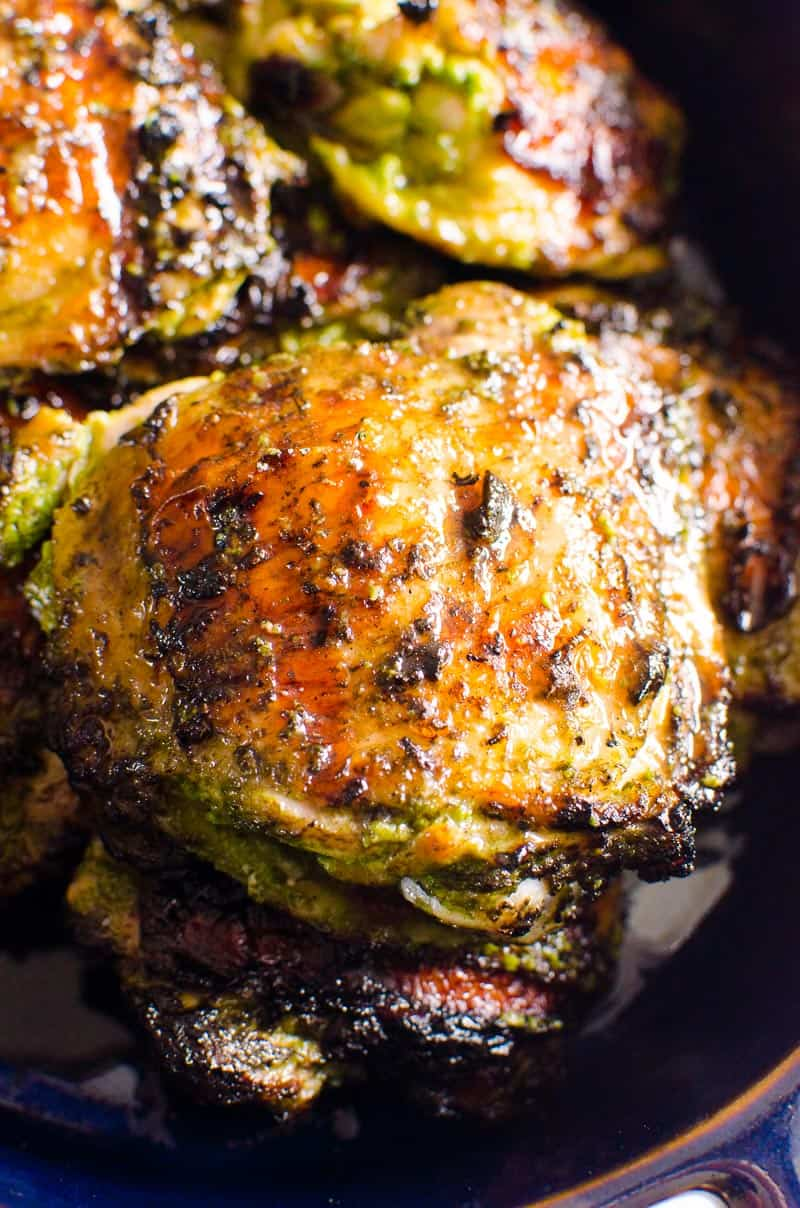 Coconut Lime Grilled Chicken Thighs