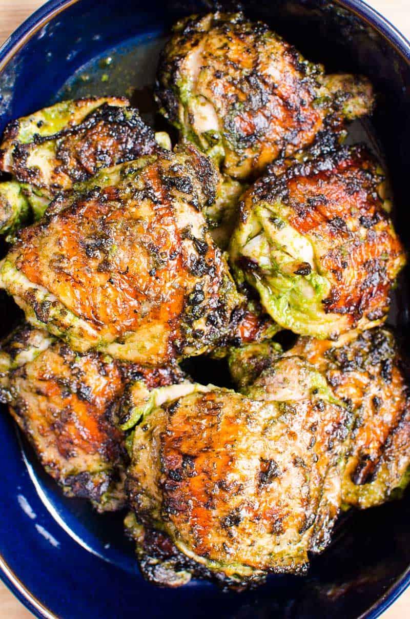 Grilled Chicken Thighs Recipe