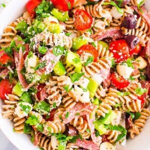 Italian Pasta Salad (Video)