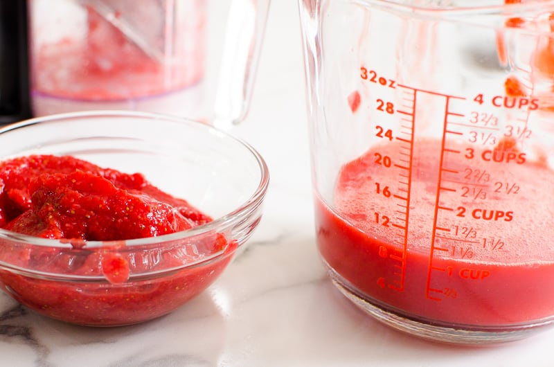 How to Make Strawberry Puree step by step