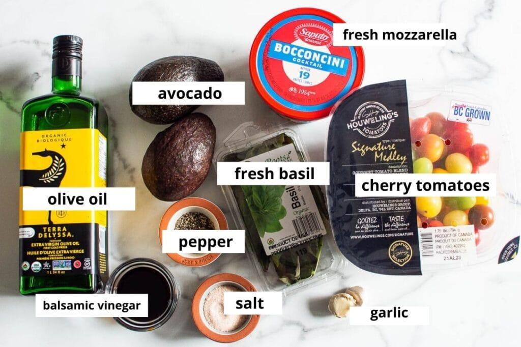 tomato mozzarella salad ingredients