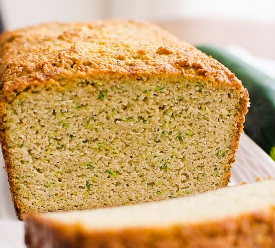 Almond Flour Zucchini Bread