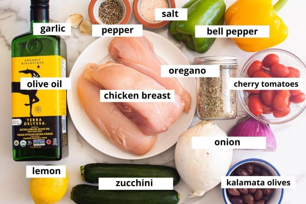 greek chicken kabobs recipes