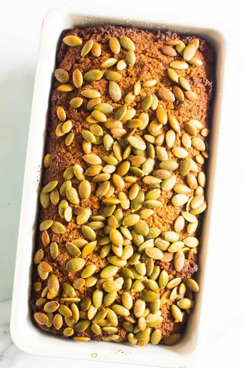 Almond Flour Pumpkin Bread recipe