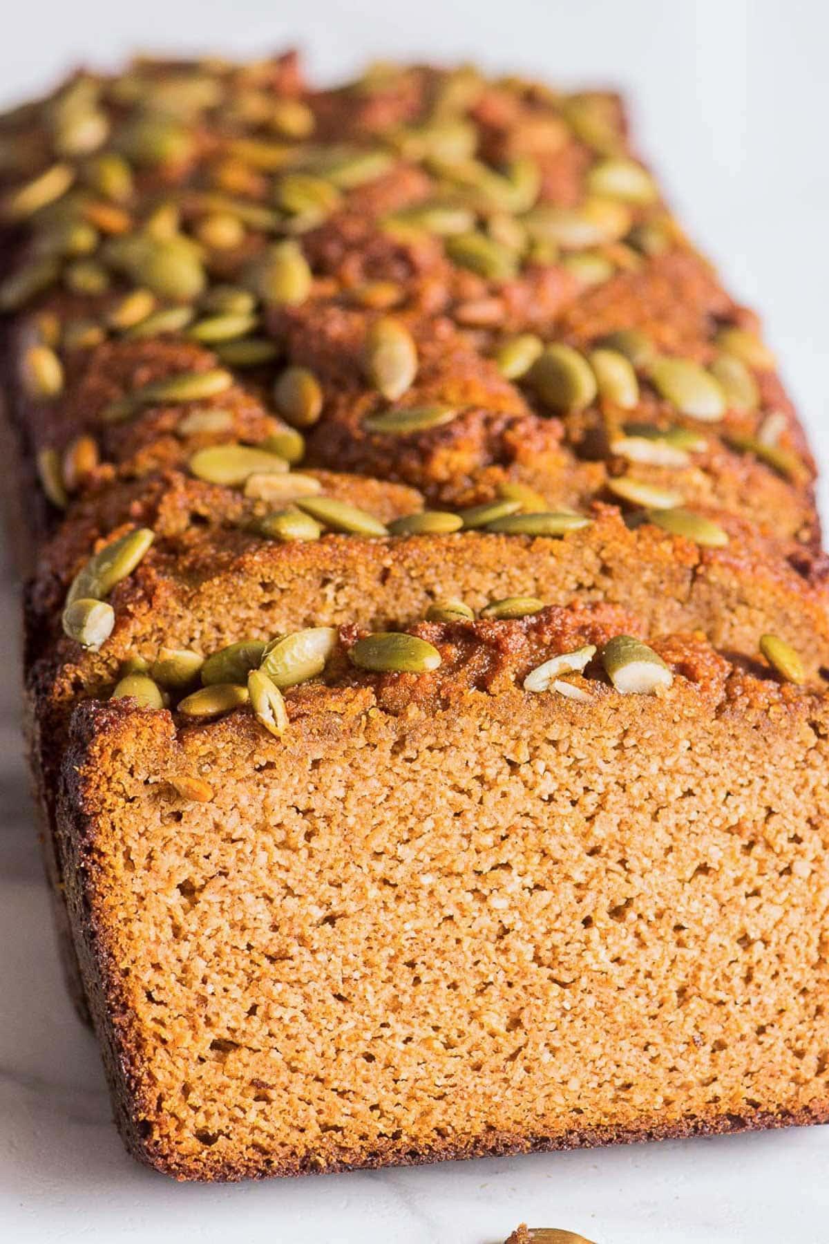 Almond Flour Pumpkin Bread Ifoodreal Com