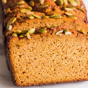 Almond Flour Pumpkin Bread (Video)