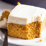 pastel de calabaza saludable