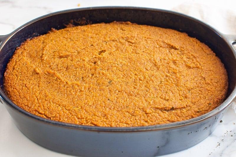 baked Healthy Pumpkin Cake