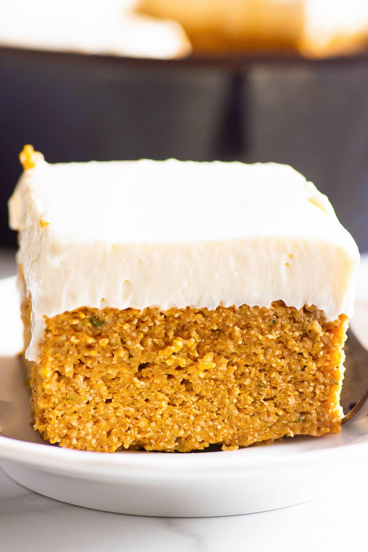 Receta de pastel de calabaza saludable