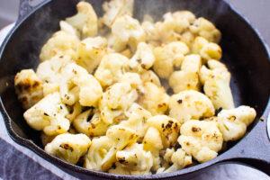 Teriyaki Chicken and Cauliflower