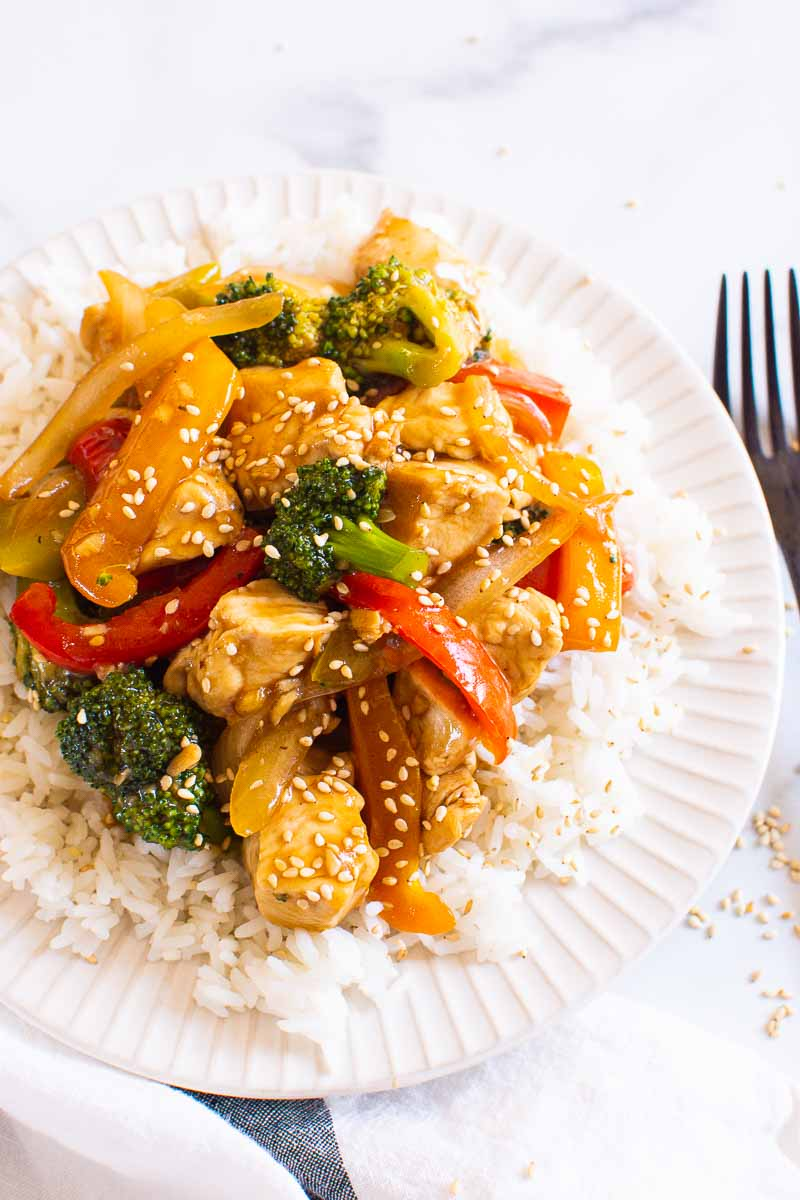 Healthy Chicken Stir Fry 30 Minutes Ifoodreal Com