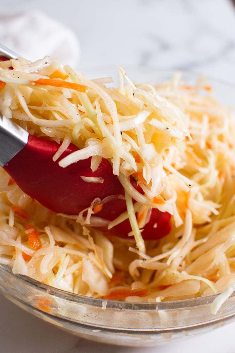 vinegar coleslaw recipe
