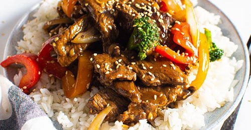 For 30 minutes recipes beef stir fry
