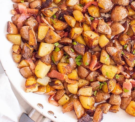 Ukrainian Breakfast Potatoes