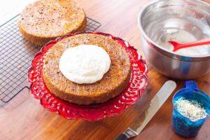 Almond Flour Carrot Cake