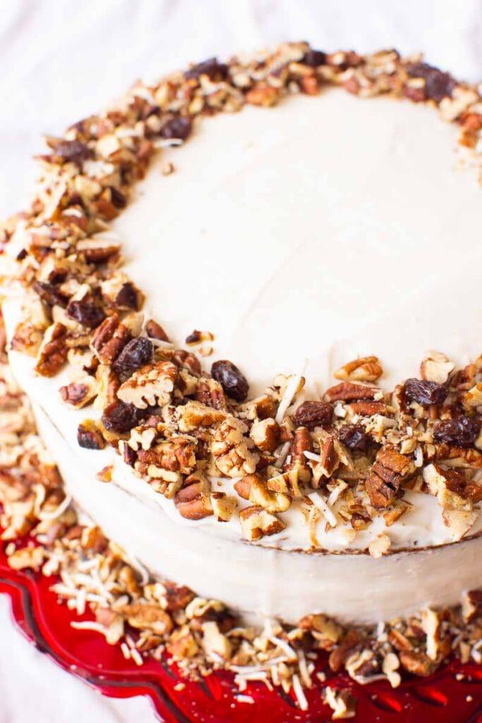 almond flour carrot cake recipe