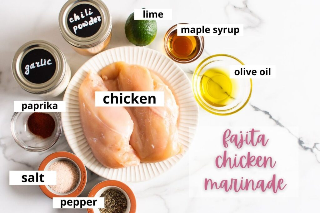 fajita chicken marinade ingredients