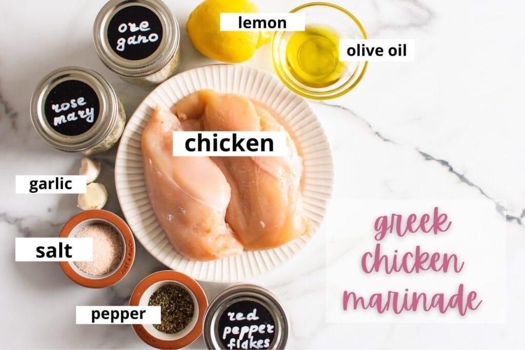 greek chicken marinade ingredients
