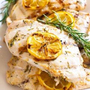 Grilled Lemon Rosemary Chicken