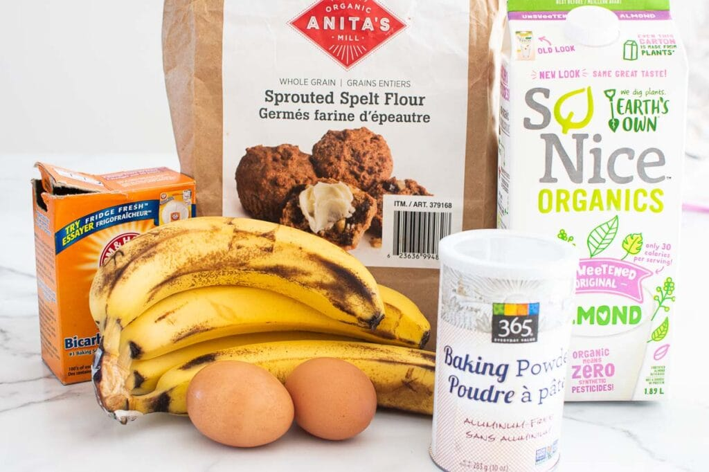 healthy banana pancakes ingredients