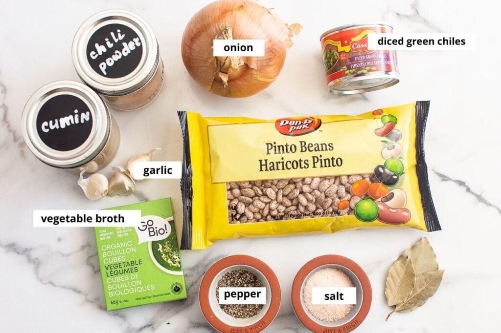 refried beans ingredients