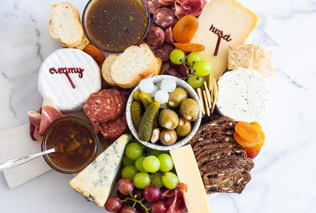 everyday charcuterie board