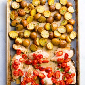One Pan Chicken and Potatoes