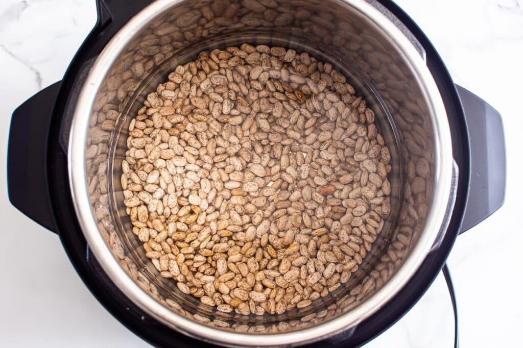 beans plus water for baked beans instant pot