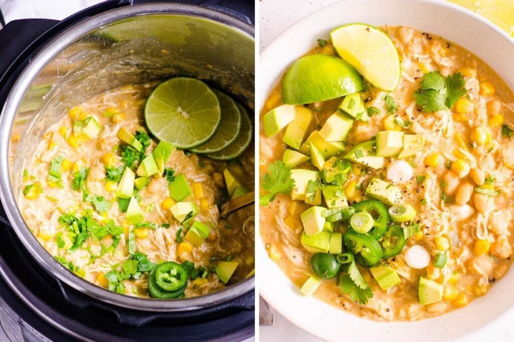 healthy freezer meals white chicken chili