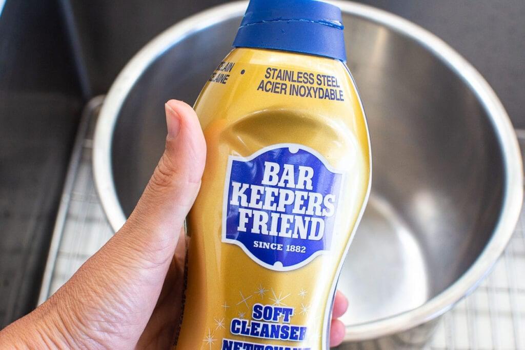 bar keeper's friend cleaner in a bottle