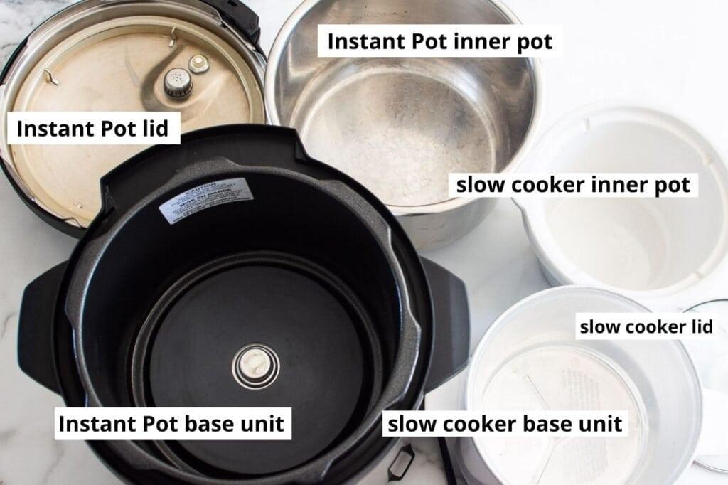 instant pot slow cooker parts