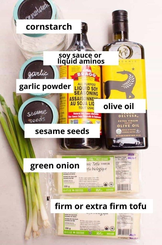 pan fried tofu recipe ingredients