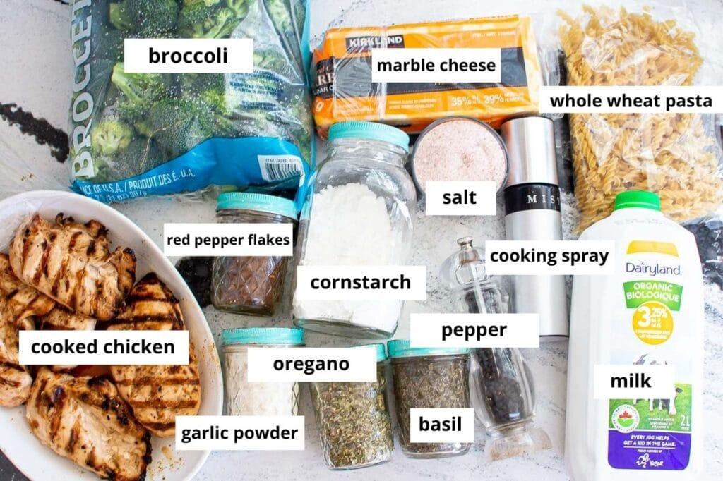 healthy chicken broccoli casserole recipe