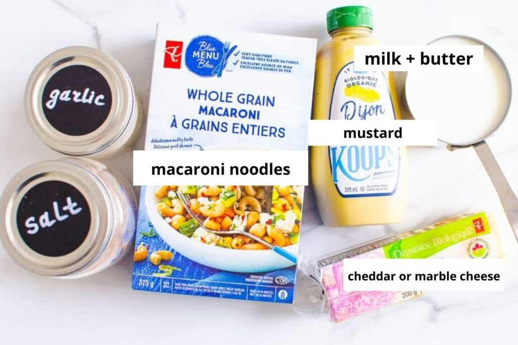 mac and cheese instant pot ingredients