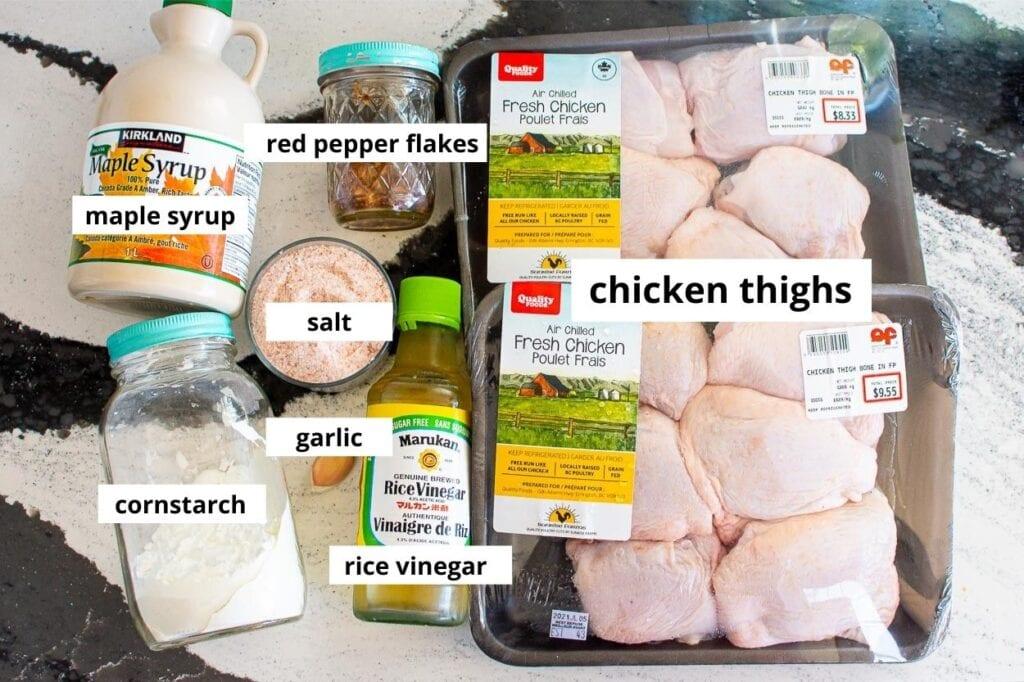 slow cooker thai chicken ingredients