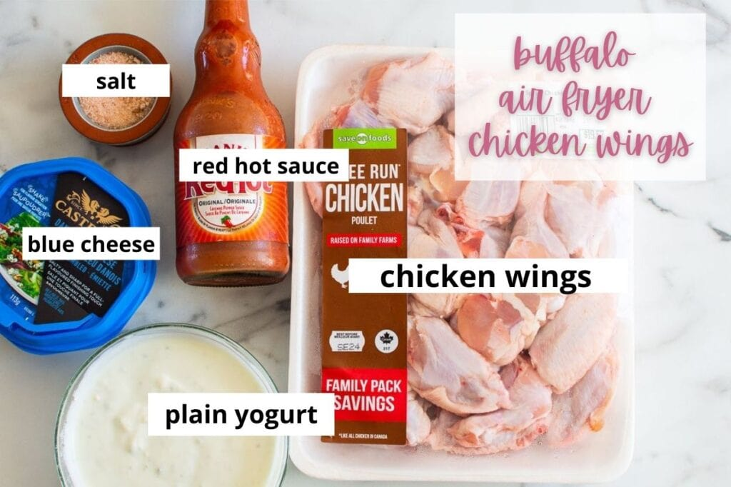 buffalo chicken wing ingredients