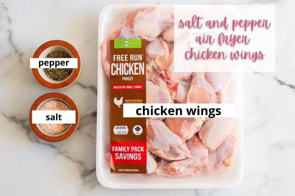 salt and pepper wings ingredients