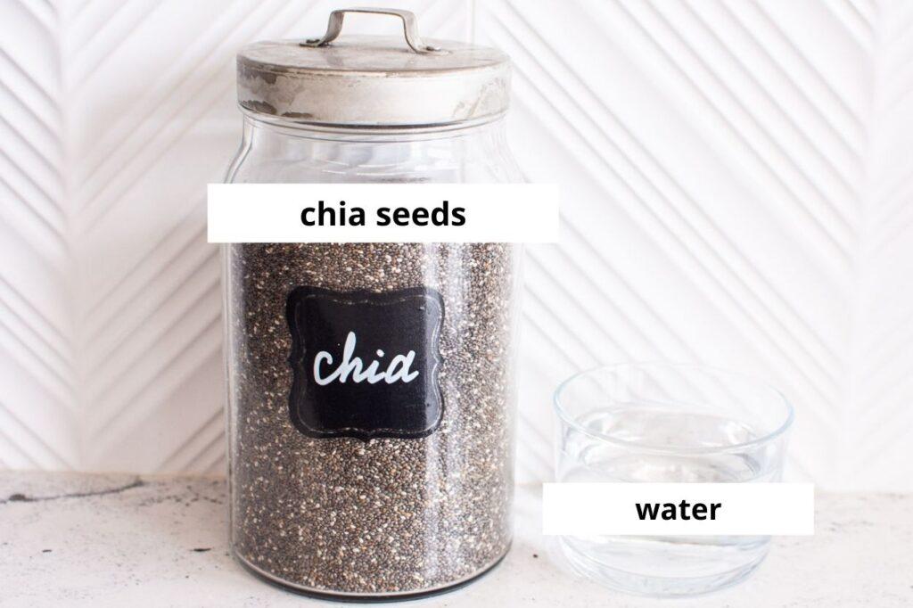 chia egg ingredients