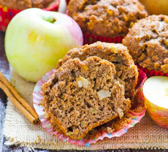 Healthy Apple Muffins