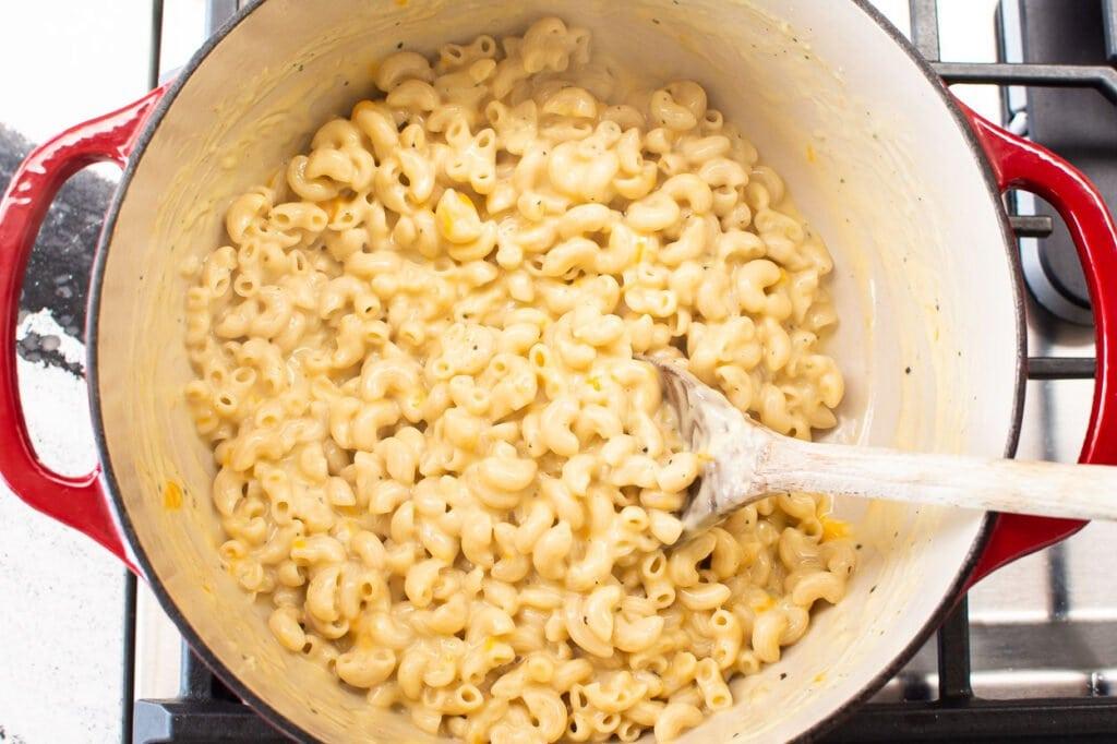 creamy healthier macaroni and cheese