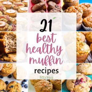 21 Best Healthy Muffin Recipes