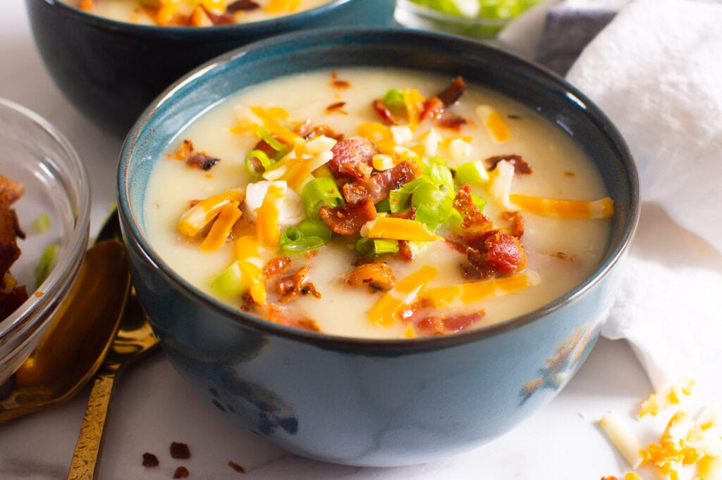 potato bacon soup made in instant pot