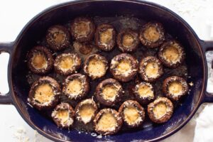 Parmesan Mushroom Appetizers